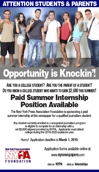 click below to download the internship promo ad to run on your newspapers website